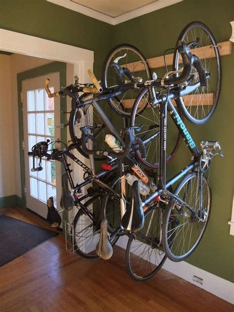 Bike Racks For Apartments by Bike Rack Bike Storage For The Home Or Apartment Wall