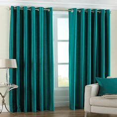 teal curtains 90 x 72 fiji faux silk eyelet lined curtains teal 90 x 72 inch
