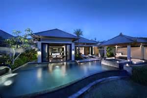 modern resort home design 峇里島 巴里島 沙灘 夕陽 椰林