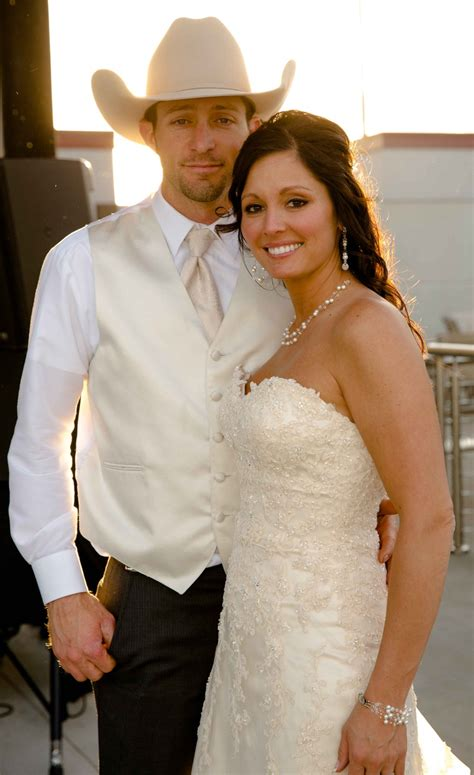Wedding Western Attire by Couples Photos Country Groom In Ivory Inside