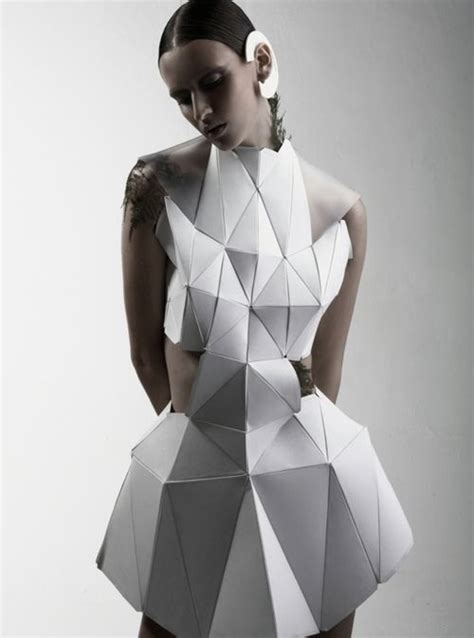 3d Origami Cyborg 1000 ideas about geometric fashion on