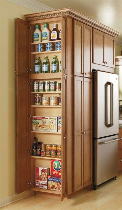 Small Kitchen Storage Cabinet This Utility Cabinet S Adjustable Shelves Make Storing All Of Your Pantry Items Easy And Give