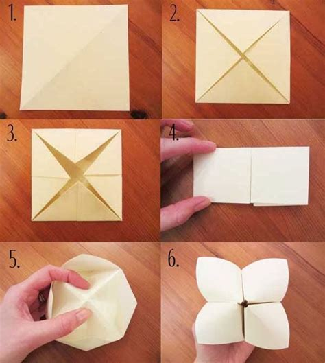 How To Make A Paper Origami Fortune Teller - how to make an origami fortune teller craft ideas