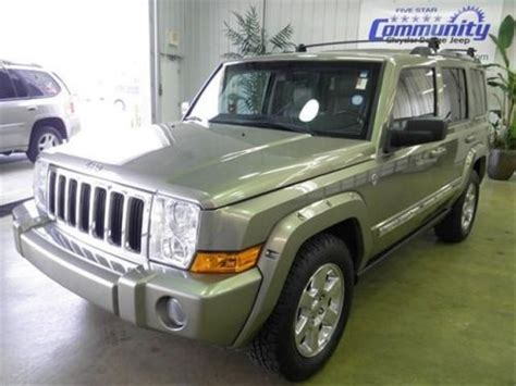 auto air conditioning repair 2006 jeep commander regenerative braking buy used 2006 jeep commander limited in 555 state road 37 s martinsville indiana united