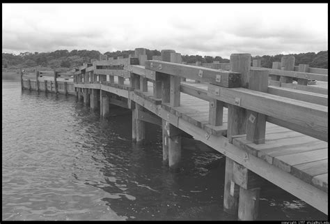 Chappaquiddick Bridge Photo Bridge Bw 34