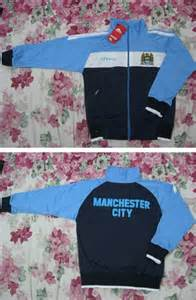 Jaket Bola Waterproof Manchester City jaket bola anak omahotto s