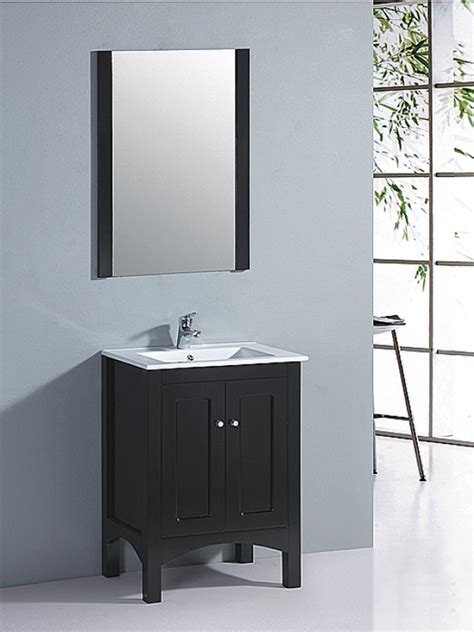 23.5 Inch Single Sink Bathroom Vanity with Matching Mirror