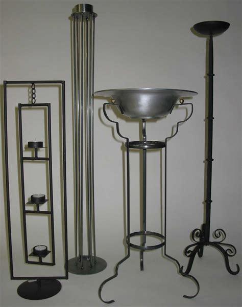 kerzenhalter eisen schwarz dreifuss - Kerzenhalter Eisen