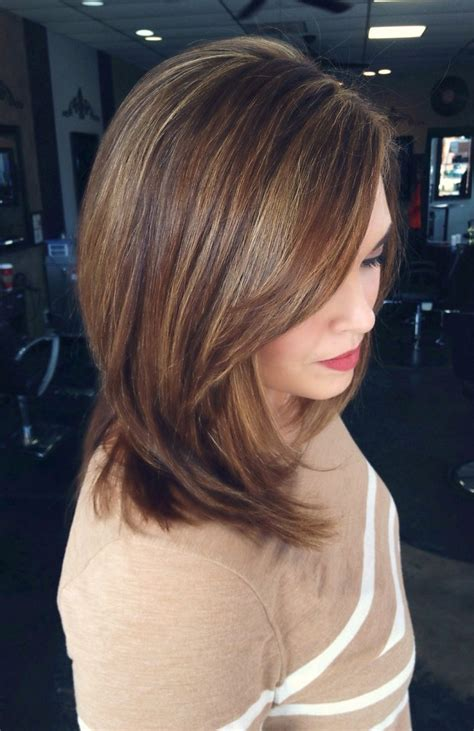 low and high lights for short hair caramel highlights low lights honey highlights hair