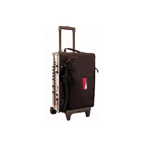 Rolling Bag With Rack by Gator Industrial Cases Grbw 2u Rolling 2 Space Rack