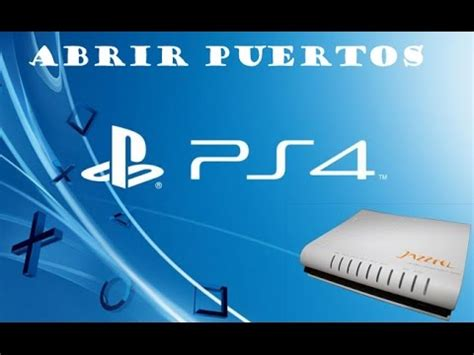 tutorial nat abierta ps4 cambiar nat doovi