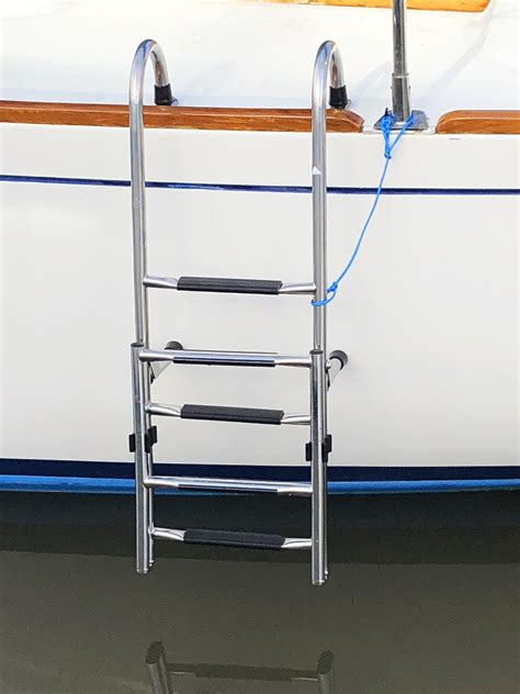 boat ladder west marine boarding ladders west marine