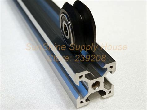 V Slot Aluminium Profile Extrusion Rail 2020 Black Ox Cnc Frame 100cm 1 2020 aluminum profile extrusion for cnc laser cutter building v slot rail 2020 ox cnc ooznest