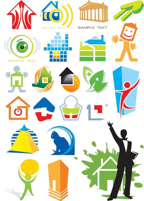 logo design vector graphics house theme logo graphics vector free vector 4vector