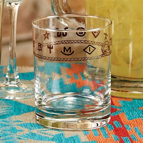 Rope & Brands Double Old Fashioned Glasses (Set of 4)