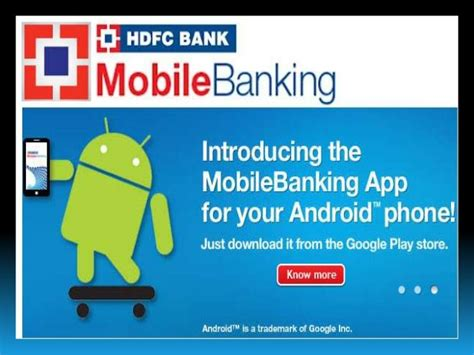 hdfcbank net bank m banking in hdfc bank ppt