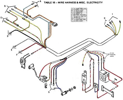 actual connection diagram wiring diagrams 171 myrons mopeds