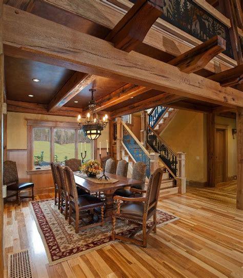 images  timber frame home interiors  pinterest bristol metals  beams