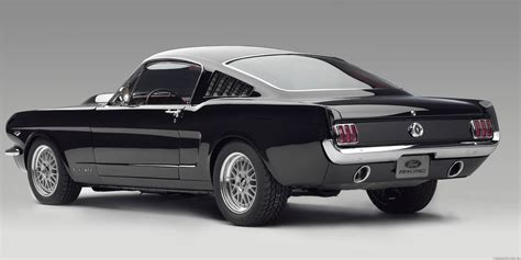 ford mustang fastback 65 with cammer engine matte style