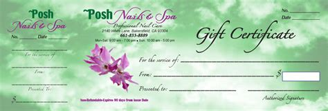 nail salon gift certificate template nail salon gift certificate pictures to pin on pinterest pinsdaddy