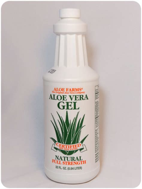 Aloe Vera Gel 9 Day Detox by Aloe Vera 32oz