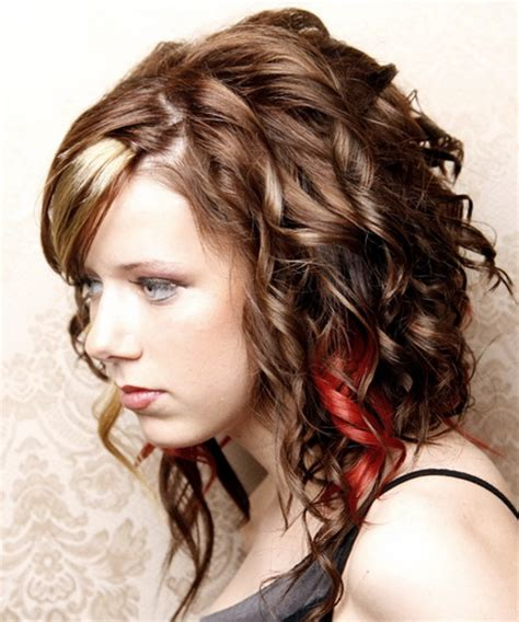 Easy Hairstyles For Curly Hair Teenagers by Curly Hairstyles For