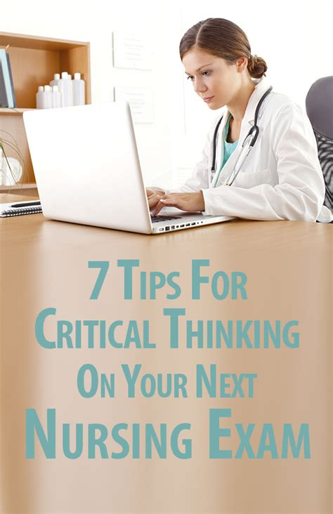 how to improve your critical thinking skills in nursing