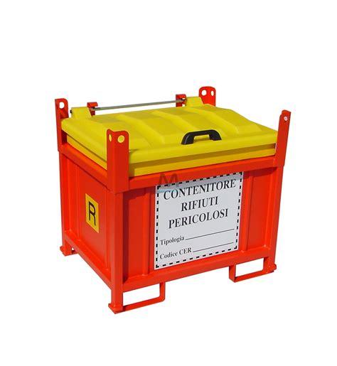 tappeti per cer contenitore per rifiuti pericolosi 550lt mito prodotti