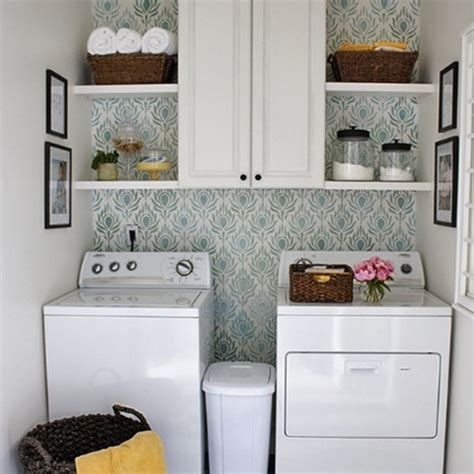 20 Laundry Room Ideas With Small Space Solutions Storage Ideas For Small Laundry Room