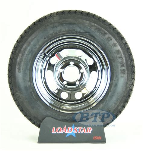 boat wheels and tires boat trailer tire st205 75d14 on chrome wheel 5 lug rim by