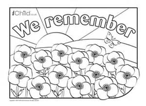 poppy template to colour we remember poppy field colouring in picture ichild