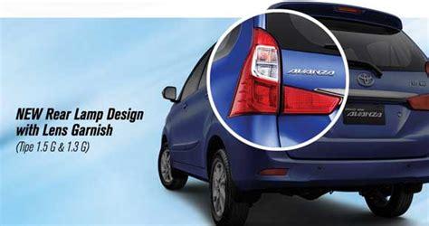 Lu Belakang Mobil Toyota Avanza grand new avanza 2017 terbaru spesifikasi foto desain mobil toyota