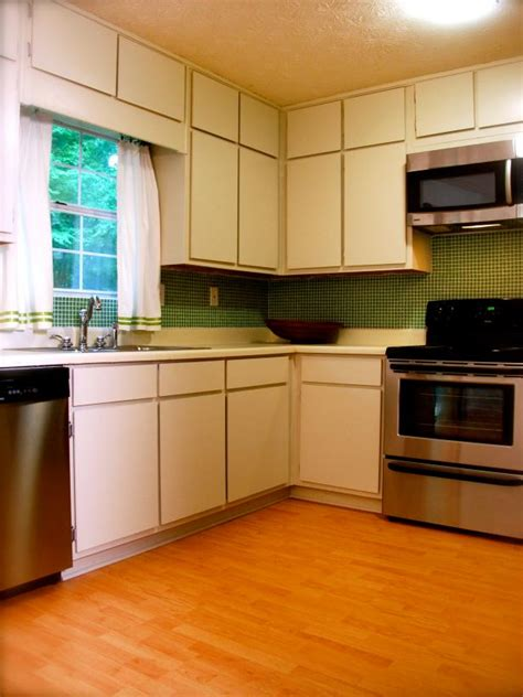 How To Keep White Kitchen Cabinets Clean by Keeping Your Simple Small Kitchen Appliances Clean Hgtv
