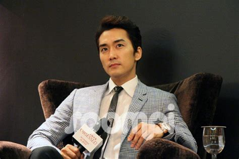 obsessed film actors song seung heon in singapore to promote his first erotic