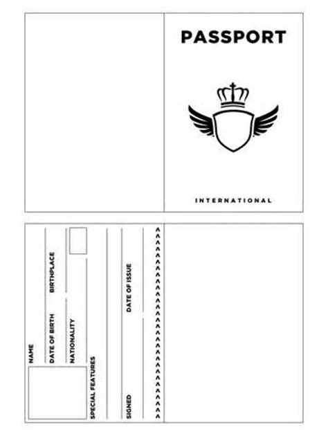 best 25 passport template ideas on pinterest passports