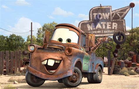 Tow Mater Garage are you driving gaga or maybe the o lantern of thedetroitbureau