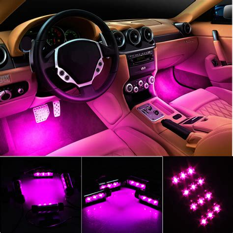 T10 Lu Led 2 5w 4x3 led voiture auto int 233 rieur ambiance atmosph 232 re feux