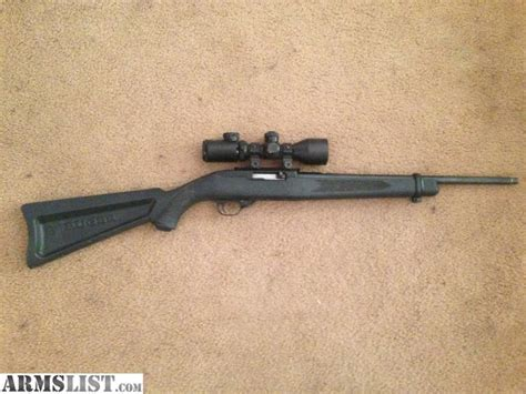 22 long rifle armslist for sale ruger 10 22 long rifle semi auto
