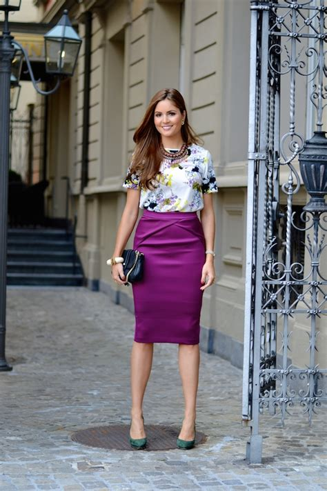 Skirt And Blouse Combinations by How To Create New Combinations Of Items Glam Radar
