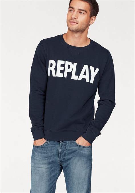 Replay Sweatshirt replay sweatshirt mit markenprint kaufen otto