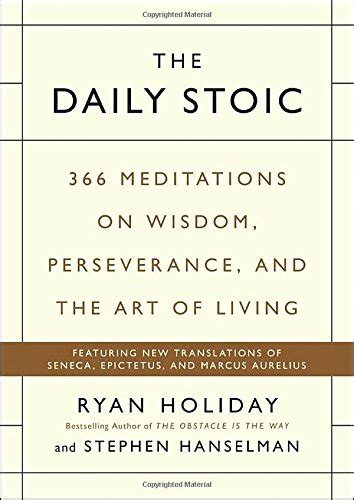 the daily stoic journal 366 days of writing and reflection on the of living books cheapest copy of the daily stoic 366 meditations on