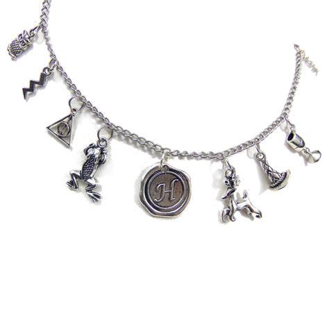 harry potter jewelry charm bracelet geeky mcfangirl