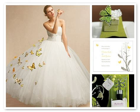 Butterfly Wedding by Choosing The Butterfly Wedding Dress For A Special Bridal Look
