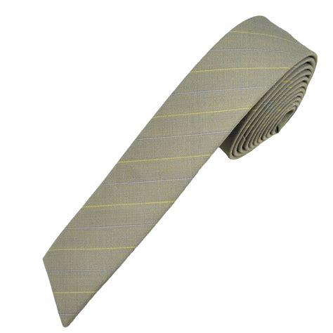light grey skinny tie light grey yellow blue ultra skinny diagonal end skinny
