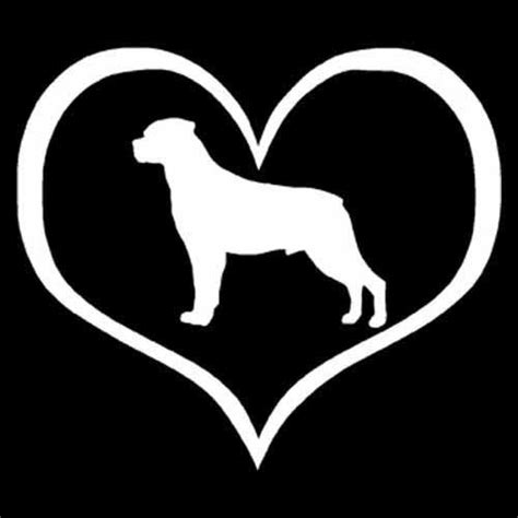my rottweiler i my rottweiler decal