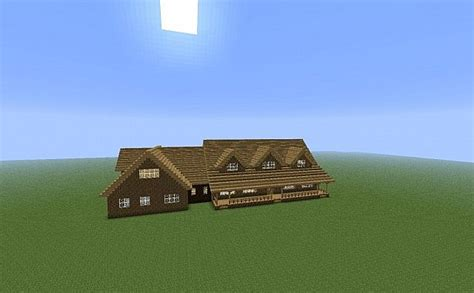 minecraft country house another country house minecraft project