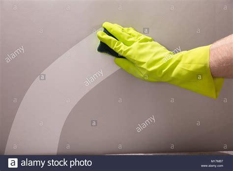 amazing of stock photo hand with sponge cleaning bathroom scrubbing stock photos scrubbing stock images alamy