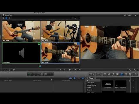 Final Cut Pro Multicam   how to final cut pro x multicam editing tutorial youtube