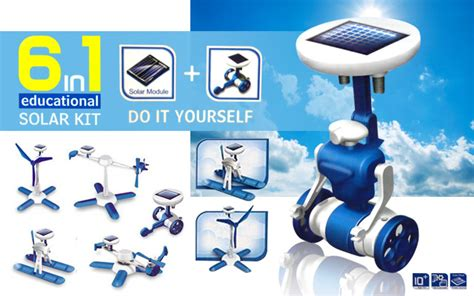 Mainan Edukasi Anak Robot 6 In 1 Solar Robotic Educational Toys Kado jual mainan solar kit panel 6 in 1 generasi 3 edukasi anak