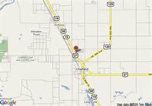 map of inn express chiefland florida chiefland